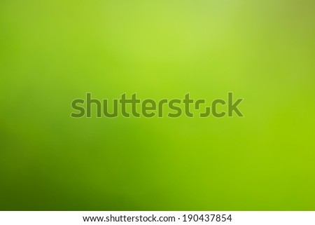 Abstract bright green yellow  blurred background - stock photo