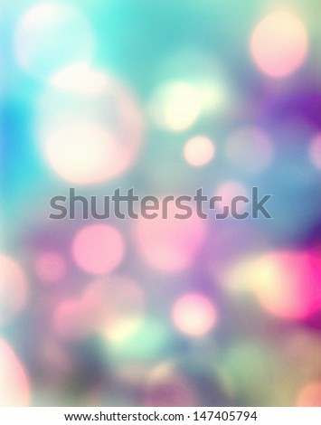 Abstract bright light as romantic background - stock photo