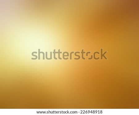 abstract bright shiny gold blurred background colors in soft blended design - stock photo