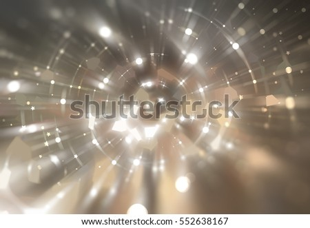 Abstract brown background. Explosion star.
