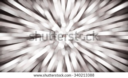 abstract brown background. fractal explosion star with gloss and lines