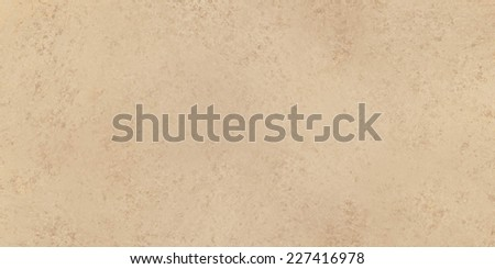 abstract brown background paper or parchment with soft texture, neutral plain backdrop for website banner or vintage invitation or stationary  - stock photo
