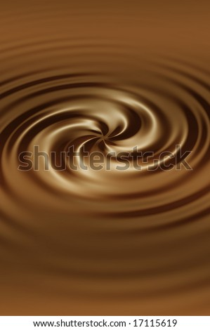 Abstract brown swirl background