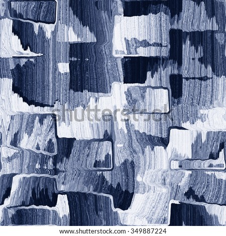 Abstract brushed grunge block seamless pattern. - stock photo
