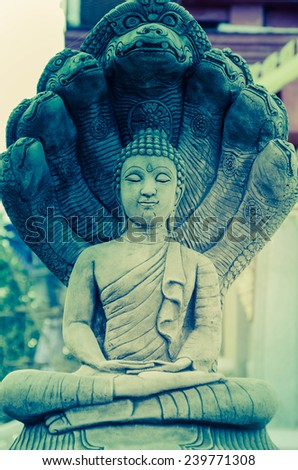 abstract Buddhism vintage - stock photo