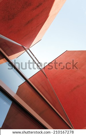 Abstract Building - stock photo