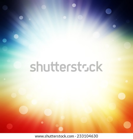 abstract burst background - stock photo