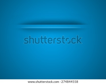 Abstract business background in the blue color  - stock photo