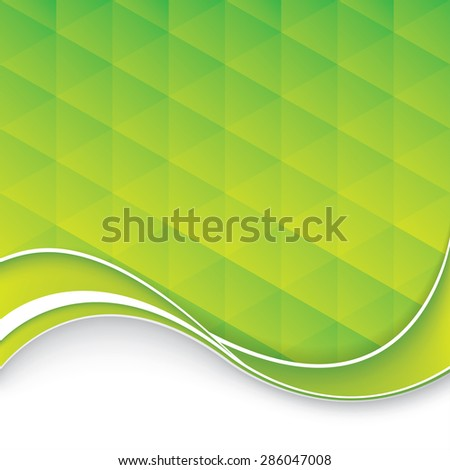 Abstract business brochure - stock photo