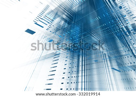 Abstract business science or technology background - stock photo
