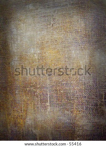 Abstract canvas grunge background - stock photo