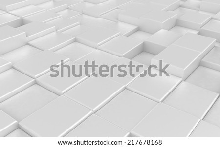 Abstract carpeting urban background - stock photo