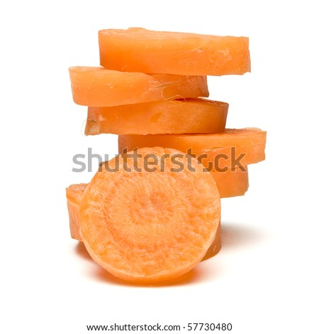 Abstract Carrot - stock photo