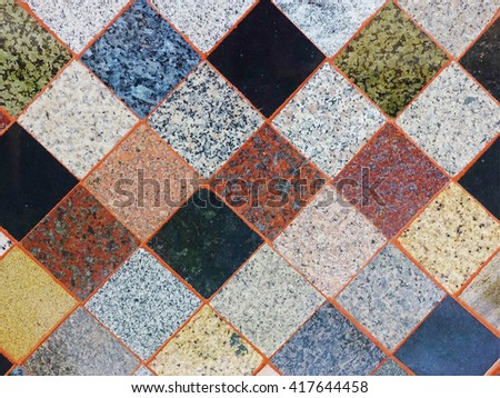 Abstract ceramic marble pattern for background