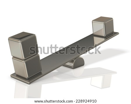 Abstract CG representing the value - stock photo