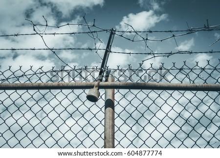 Broken Chain Link Fence Vector rusty broken chain stock images, royalty-free images & vectors
