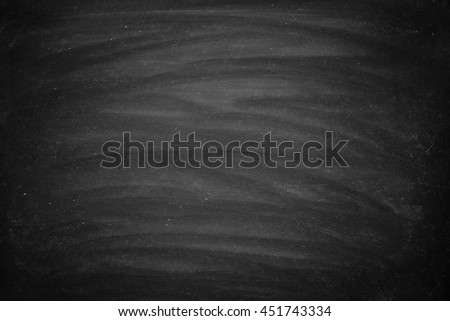 Abstract Chalk rubbed out on blackboard for background. texture for add - stock photo