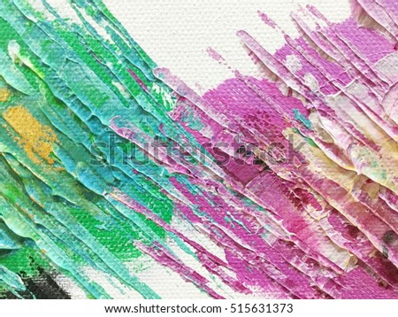 Abstract chaos painting design wallpaper