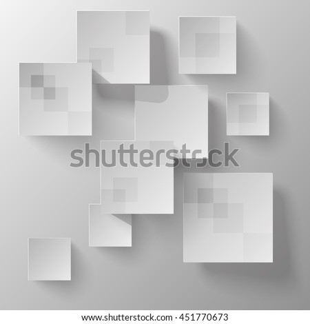 abstract chaotic squares background / template for your presentation.