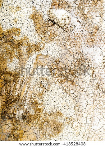Abstract chapped texture closeup background. - stock photo