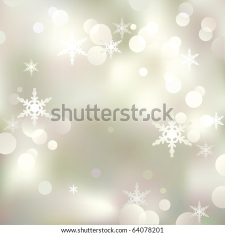Abstract Christmas and New Year background. - stock photo