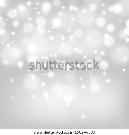 Abstract Christmas Background. Blurred Lights Bokeh. De focused Light. High quality stock photo.