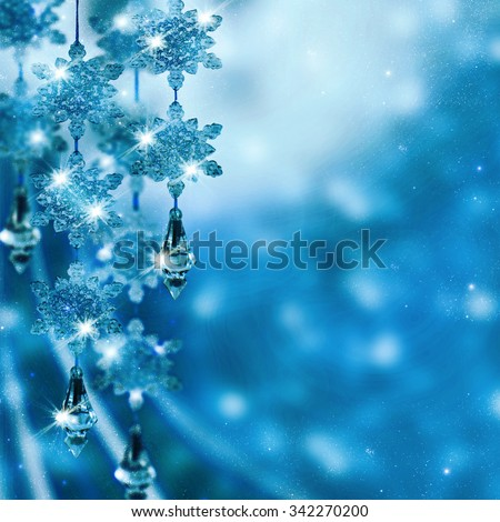 Abstract Christmas background.Holiday abstract background. - stock photo