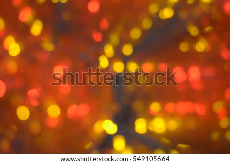 Abstract Christmas Background, New Year, lights