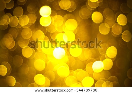 Abstract Christmas blur background with shining lights  - stock photo