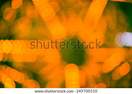 Abstract Christmas Bokeh background - stock photo