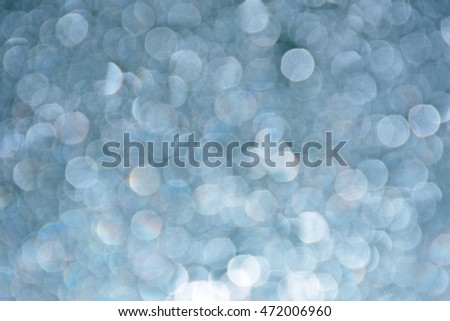 Abstract christmas bokeh lights on background