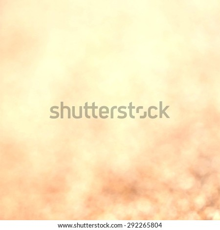 Abstract Christmas Glitter background with golden  lights. Festive defocused background.  - stock photo