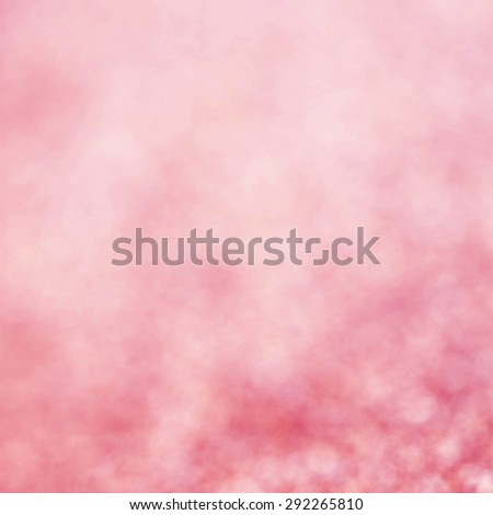 Abstract Christmas Glitter background with pink lights. Festive defocused background.  - stock photo