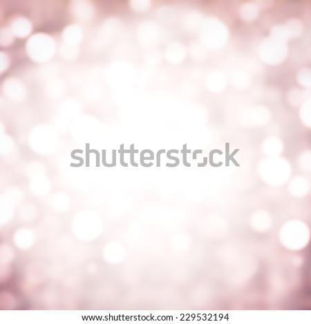 Abstract Christmas twinkled bright background with bokeh defocused silver white lights. Holiday party background with blurry boke special magic effect.  - stock photo