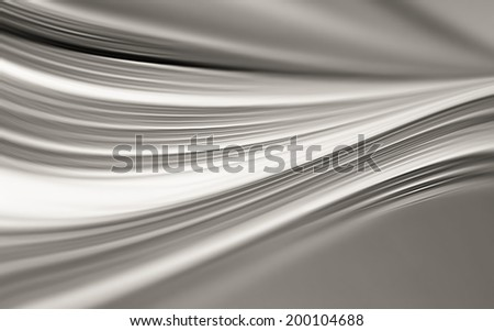 abstract chrome background for your project - stock photo