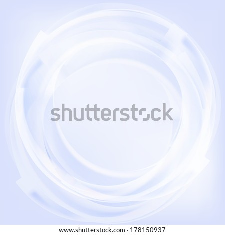 Abstract circle light background
