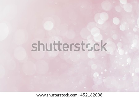 abstract circle pink bokeh background