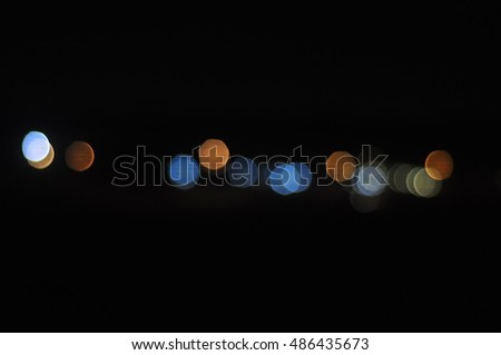 Abstract circular blur background