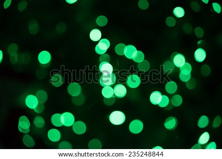 Abstract circular bokeh background of Christmas and New Year light - stock photo