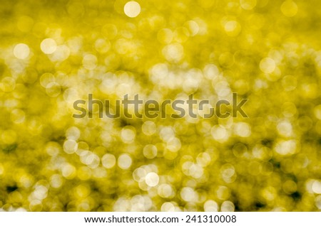 Abstract circular bokeh background of nature