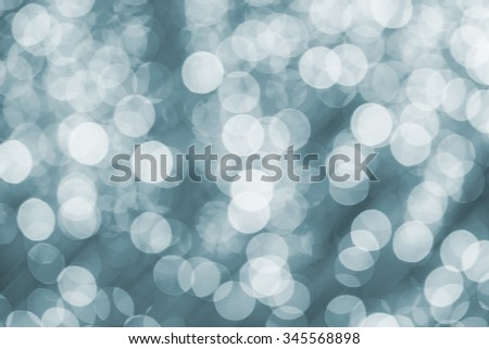 Abstract circular boken nigth for christmas background with space