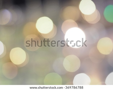 Abstract circular colorful blur background, bubble from lights. Christmas background with circle designs or blurred stars shining, glitter magic background. - stock photo