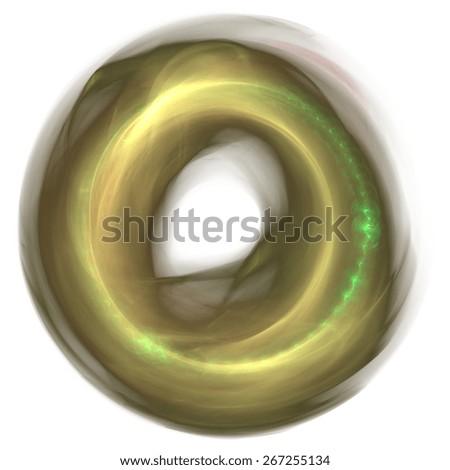 Abstract circular pattern - stock photo