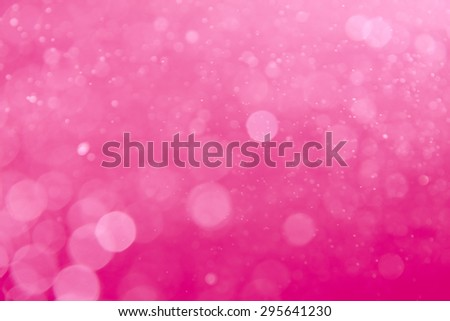 abstract circular pink bokeh background - stock photo