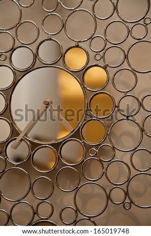 Abstract Clock - stock photo