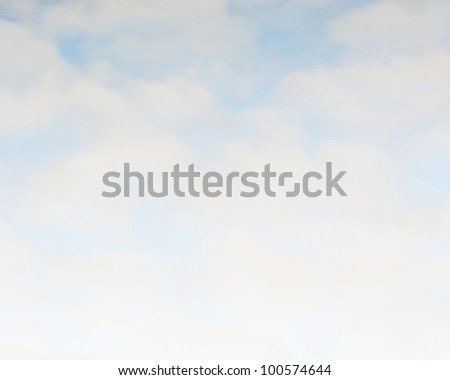 abstract cloud background for text - stock photo