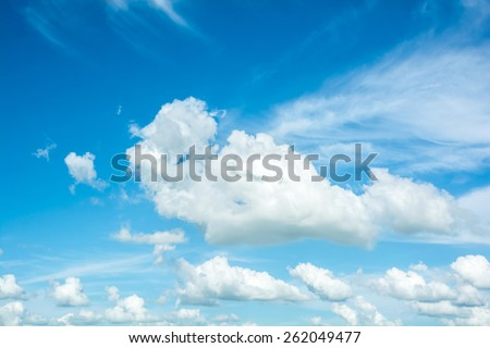 abstract cloud on the sky