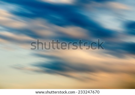 abstract cold gray blue background with motion blur - stock photo