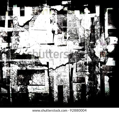 Abstract  collage - stock photo