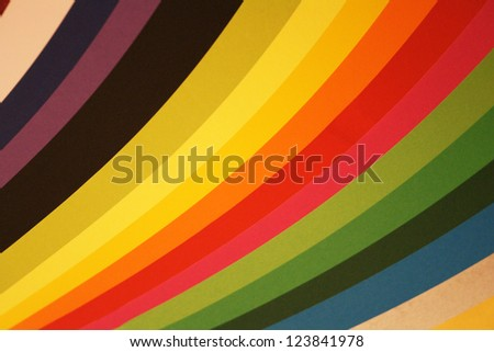Abstract color background from the different lights